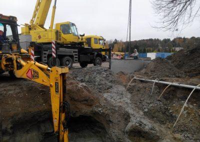 Pastato rekonstravimo į prekybos sandėlį su administracinėmis patalpomis statybos projektas ir Sandėlio rekonstravimo į gamybinį pastatą projektas
